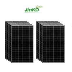 Kit 3Kwp Pannello Solare Jinko 340Wp Monocristallino JKM340M-60H