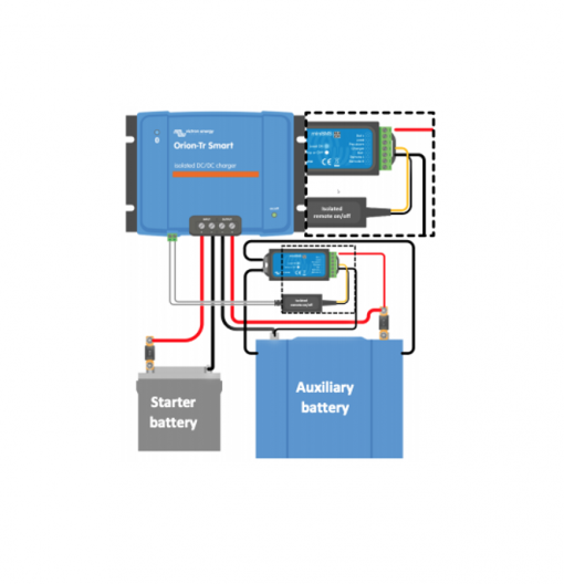 Cavo remoto per caricabatterie CC-CC isolato Orion-Tr Victron Energy