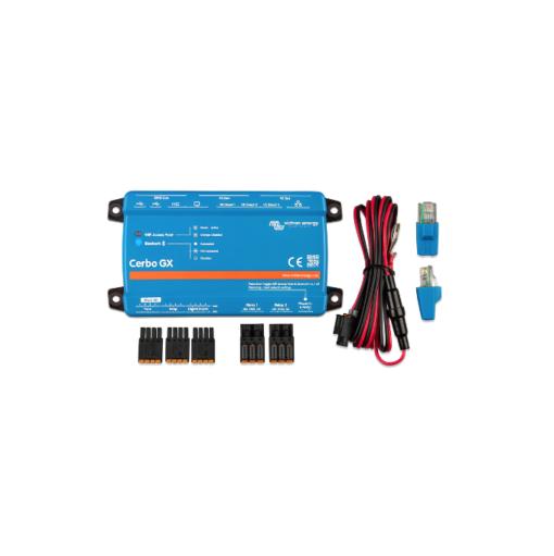 Monitoraggio Cerbo GX Victron Energy 3 porte VE.Direct 3 porte USB 4 ingressi digitali e 2 relè