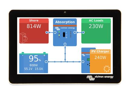 Schermata 2020 10 20 alle 10.11.46 Monitoraggio GX Touch 50 Victron Energy display touch screen da cinque pollici x Cerbo GX BPP900455050 Ryanenergia