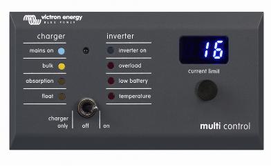 Schermata 2020 10 22 alle 15.52.58 Pannello di Controllo Digital MultiControl 200/200A GX a led Victron Energy DMC000200010R Ryanenergia