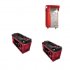 Kit Caricabatterie ZHF2430 24V 30A automatico ad alta frequenza+ batterie Zenith 12V 320Ah