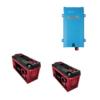 Kit Inverter Victron energy 12V 1200VA caricabatterie PMP122120000 Batteria Zenith 320Ah