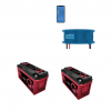 Kit Caricabatterie Victron energy Blue Smart IP67 12V 13A 1 uscita BPC121313006 Batteria Agm Zenith 400Ah
