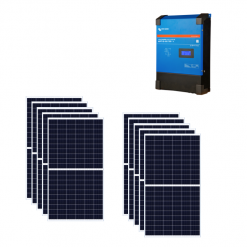 Kit 3Kw Regolatore di carica SmartSolar 100A MPPT 450/100 48V Victron Energy SCC145110410 + Pannelli 285Wp