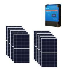 Kit 4Kw Regolatore di carica SmartSolar 100A MPPT 450/100 48V Victron Energy SCC145110410 + Pannelli 285Wp