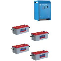 Kit 48V Caricabatterie Skylla-TG Charger 48V 25A 48/25 (1+1) Victron Energy SDTG4800251 + Batterie NBA 200Ah