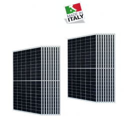 Kit 6,2Kwp Pannello Torri Solare 345Wp Monocristallino 120 celle HALF cell TRS 345-60M Silvered 30 Anni di Garanzia