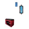 Kit Caricabatterie Victron energy Blue Smart IP65 12V 15A IP65 BPC121531064R Batteria Agm 140Ah zenith