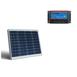 Kit Regolatore di carica BlueSolar 5A PWM-Light 12/24V Victron Energy SCC010005000 + pannello 50Wp