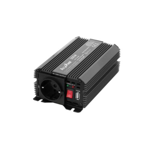Inverter Alcapower onda modificata Inverter Soft Start 300W Input 12V DC Out 230V AC