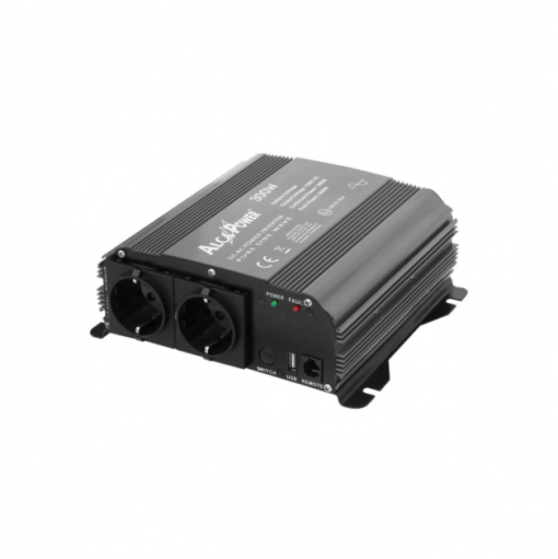 Inverter Alcapower onda pura Inverter 300W Input 12V DC Out 230V AC