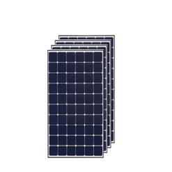 Kit 1,5Kwp Pannello Solare LG 380Wp Monocristallino NeON R Q1C-V5 60 celle stock