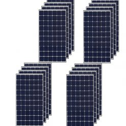 Kit 6Kwp Pannello Solare LG 380Wp Monocristallino NeON R Q1C-V5 60 celle stock