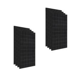 Kit 3Kwp Pannello Solare LG 350Wp Monocristallino NeON2 full black N1K-N5 60 celle stock