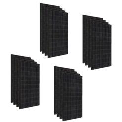 Kit 6Kwp Pannello Solare LG 350Wp Monocristallino NeON2 full black N1K-N5 60 celle stock