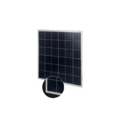 Pannello Solare 130W 12V Policristallino x camper nautica Fotovoltaico 5busbar