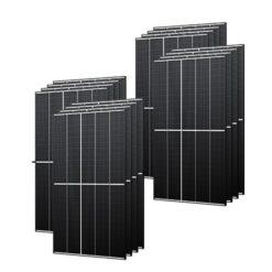 Kit 6,3Kwp Pannello Solare Trina Solar 395Wp Monocristallino TSM-DE09.08 Vertex S