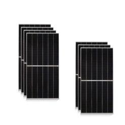 Kit 3Kwp Pannello Solare Jinko tiger pro 440Wp Monocristallino JKM440M-6tl4 half cell top di gamma