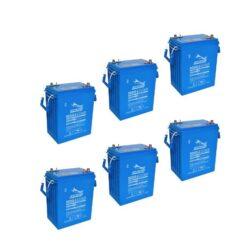 Banco Batteria 1005Ah 12V FULLRIVER 6Volt DC335-6 AGM deep cycle alte prestazioni top di gamma