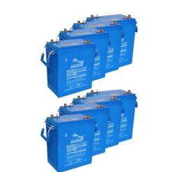 Banco Batteria 1340Ah 12V FULLRIVER 6Volt DC335-6 AGM deep cycle alte prestazioni top di gamma