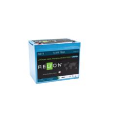 Batteria 75Ah 12V Relion RB75 12V LiFePO4 alte prestazioni x fotovoltaico top di gamma