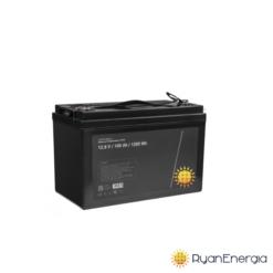 Batteria LiFePO4 100Ah 12,8V 1280Wh batteria al litio ferro fosfato impianto fotovoltaico alte prestazioni