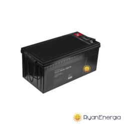 Batteria LiFePO4 200Ah 12,8V 2560Wh BMS batteria al litio ferro fosfato impianto fotovoltaico alte prestazioni
