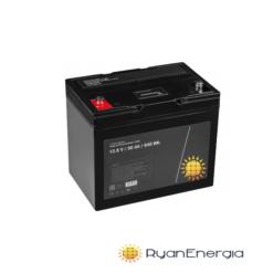 Batteria LiFePO4 50Ah 12,8V BMS batteria al litio ferro fosfato impianto fotovoltaico alte prestazioni