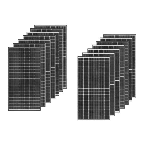 Kit 6,3Kwp Pannello Munchen 450Wp Monocristallino 182 celle HALF cell top di gamma