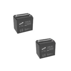 Banco Batteria 12V Stazionaria 180Ah 6V Faam Agm Fll180-6 x uso Fotovoltaico